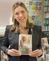 Lesia Daria Forty One book launch