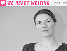First in a series of blogs on writing and publishing at weheartwriting